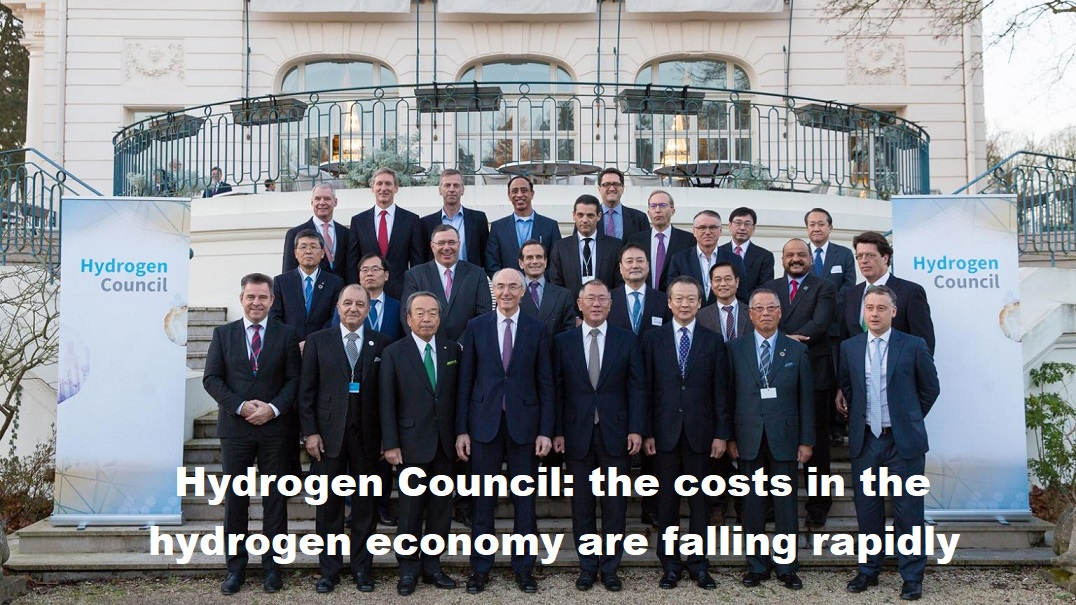 Hydrogen Council: de kosten in de waterstofeconomie dalen razendsnel